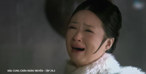4 màn cung đấu trên phim drama hơn cả vụ Hoàng Quý Phi Thái Lan bị phế truất: Châu Tấn bị tát nát mặt, Tưởng Hân đập đầu tự vẫn - Ảnh 12.