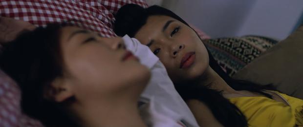 Sốc: Văn Mai Hương khóa môi Đồng Ánh Quỳnh cực nồng nàn trong MV song ca với Bùi Anh Tuấn, plot twist đến tận giây cuối cùng - Ảnh 5.