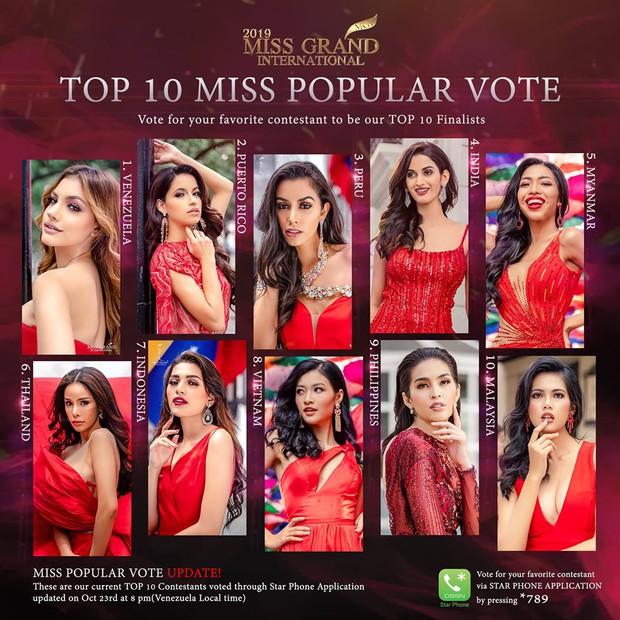 Top 20 Quốc Phục đẹp nhất Miss Grand: Kiều Loan gặp sự cố vẫn giữ vị trí cao, chỉ xếp sau duy nhất một thí sinh - Ảnh 5.