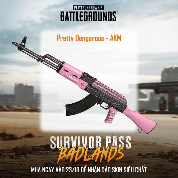 PUBG: Ngắm nhìn dàn skin vũ khí siêu xịn trong Survivor Pass 5, đẹp đến từng chi tiết! - Ảnh 3.