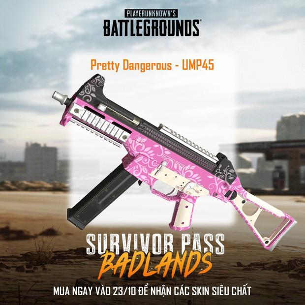 PUBG: Ngắm nhìn dàn skin vũ khí siêu xịn trong Survivor Pass 5, đẹp đến từng chi tiết! - Ảnh 5.