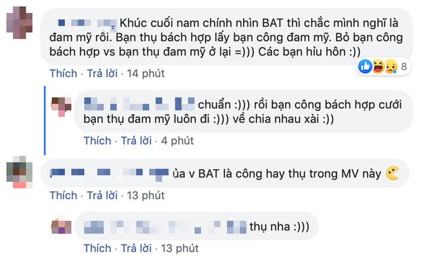 Khán giả tấm tắc kịch bản bẻ lái khét lẹt của MV Văn Mai Hương, trông chờ cảnh hôn đam mỹ của Bùi Anh Tuấn, khẳng định luôn 2019 là năm LGBT của VPOP! - Ảnh 18.