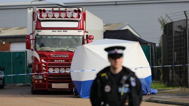 39 người thiệt mạng trong container ở Anh là người Trung Quốc - Ảnh 1.