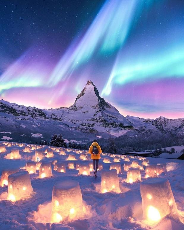 Trải nghiệm chỉ vài phần trăm dân số được thử trong đời: Săn Bắc Cực Quang hốt hình sống ảo đẹp như một giấc mơ - Ảnh 8.