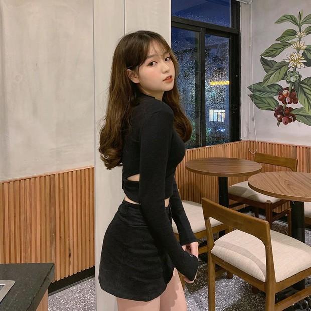 Bạn gái tin đồn của Quang Hải chứng minh: Cao 1m52 vẫn mặc đẹp như thường nhờ tài hack dáng, mặt xinh bù đắp tất cả! - Ảnh 3.
