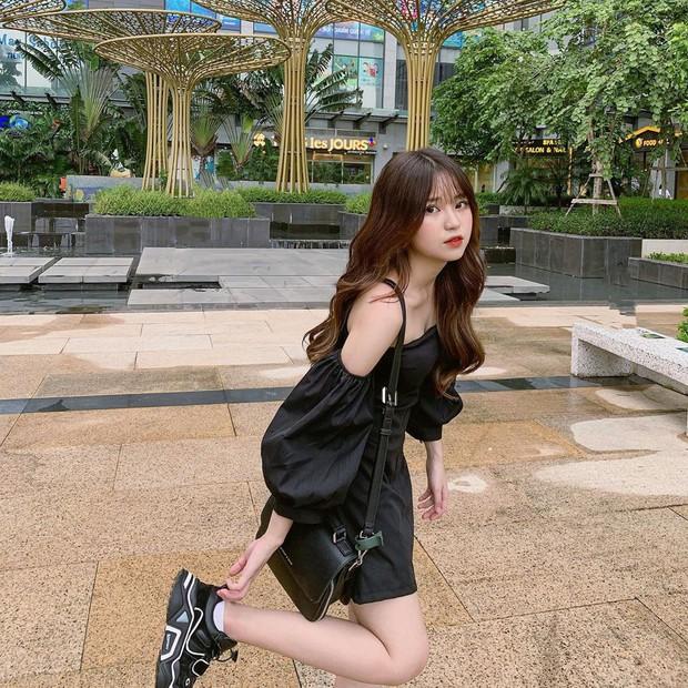 Bạn gái tin đồn của Quang Hải chứng minh: Cao 1m52 vẫn mặc đẹp như thường nhờ tài hack dáng, mặt xinh bù đắp tất cả! - Ảnh 5.