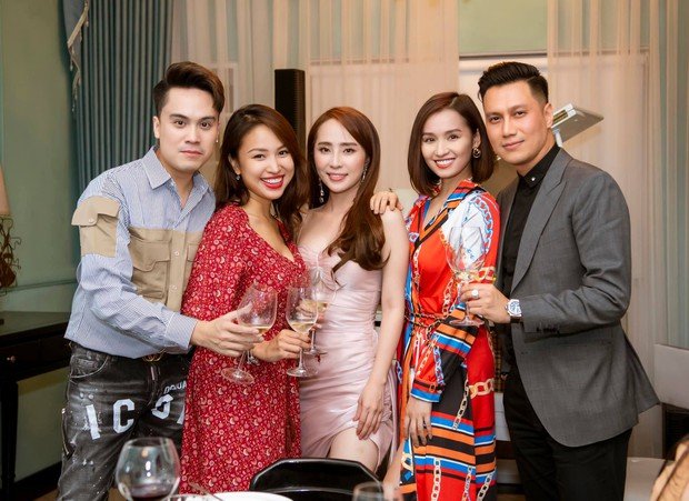 Lâu rồi mới thấy hội bạn thân Việt Anh tụ họp đông đủ: 90% là độc thân, toàn trai xinh gái đẹp đình đám Vbiz - Ảnh 3.