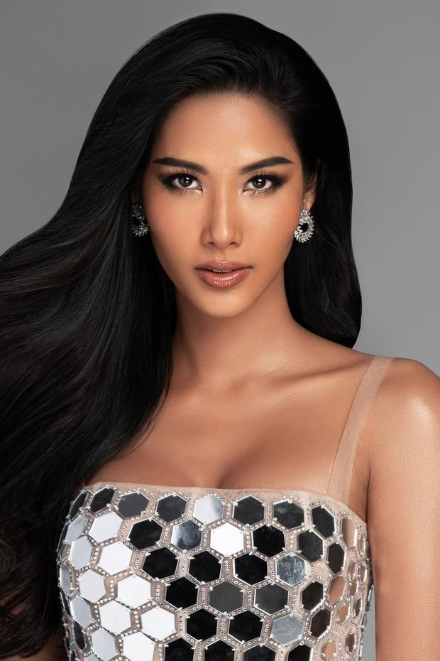 Mãn nhãn với bộ ảnh Hoàng Thùy trên trang chủ Miss Universe, đáng chú ý vẫn là vòng 1 căng đầy dính nghi vấn dao kéo - Ảnh 3.