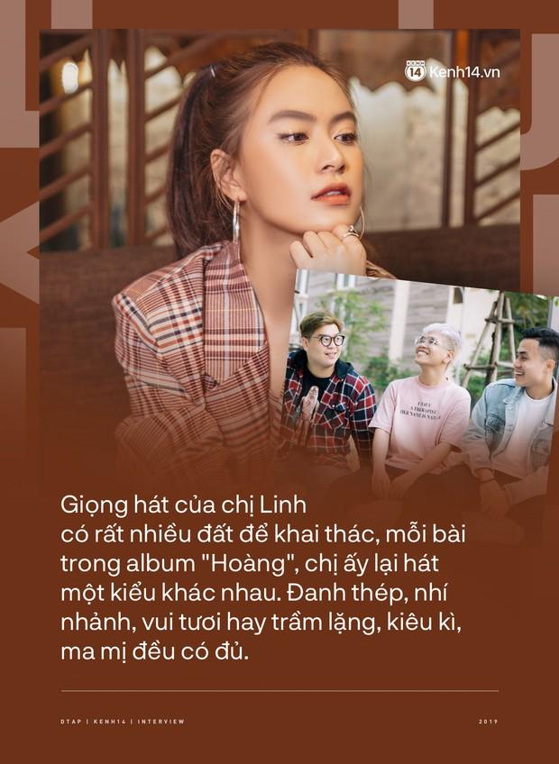 DTAP - hit maker đằng sau album Hoàng: từng gửi Để Mị nói cho mà nghe cho nhiều ca sĩ suốt 4 tháng, kể chuyện Hoàng Thùy Linh bật khóc, nhảy cẫng khi nghe demo - Ảnh 9.
