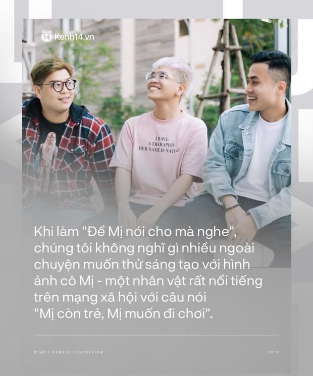 DTAP - hit maker đằng sau album Hoàng: từng gửi Để Mị nói cho mà nghe cho nhiều ca sĩ suốt 4 tháng, kể chuyện Hoàng Thùy Linh bật khóc, nhảy cẫng khi nghe demo - Ảnh 5.