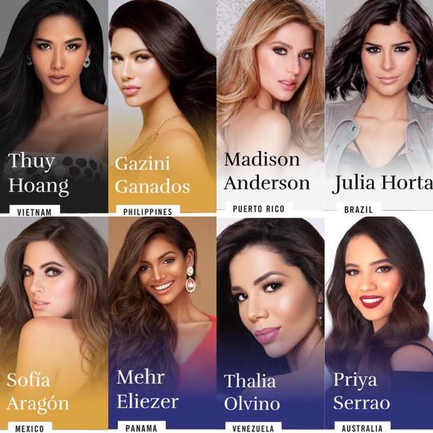 Mãn nhãn với bộ ảnh Hoàng Thùy trên trang chủ Miss Universe, đáng chú ý vẫn là vòng 1 căng đầy dính nghi vấn dao kéo - Ảnh 10.