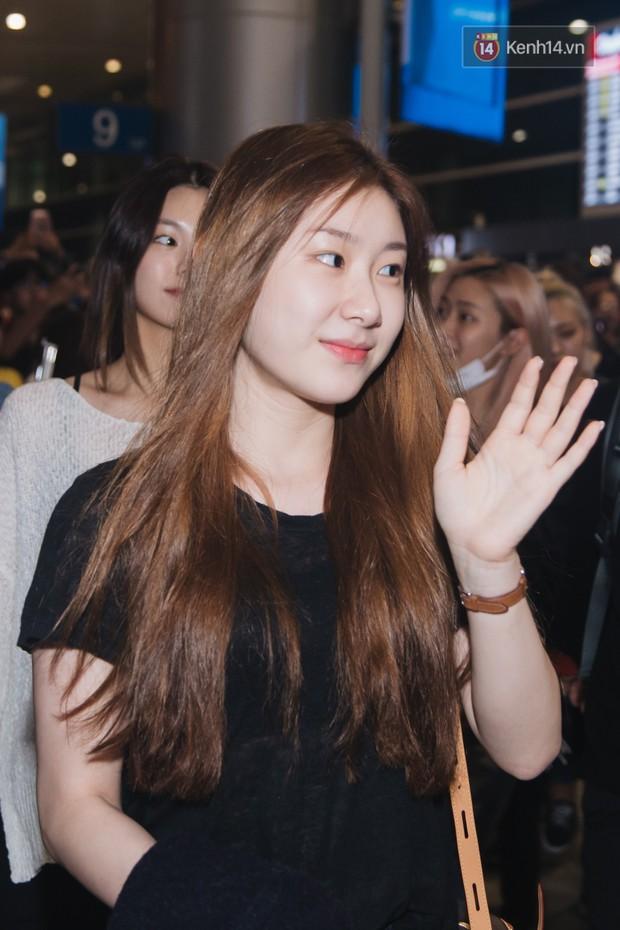 Tân binh ITZY khủng nhà JYP đổ bộ sân bay Tân Sơn Nhất: Dàn mỹ nhân khoe da đẹp mãn nhãn, Yuna diện cả cây đồ hiệu - Ảnh 11.