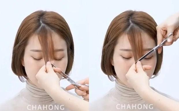 2 cách cắt tóc mái thưa siêu nhanh, đảm bảo không lỗi mà còn đẹp hơn cả ra tiệm - Ảnh 2.