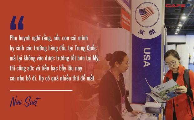 Phụ huynh Trung Quốc toát mồ hôi kiếm tiền cho con du học Mỹ: Chi phí hàng trăm nghìn USD, đến người giàu cũng muốn khóc!  - Ảnh 4.