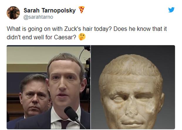 Chỉ vì kiểu tóc bát úp quý tộc, Mark Zuckerberg bị cà khịa ngay tại hội nghị và chế ảnh không hồi kết trên Internet - Ảnh 5.