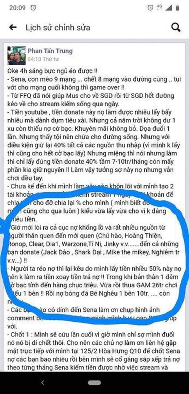LMHT: Biến căng SBTC - Thầy Ba đăng đàn tố Hiệu trưởng Tú Sena đang quỵt nợ hàng trăm triệu đồng - Ảnh 5.