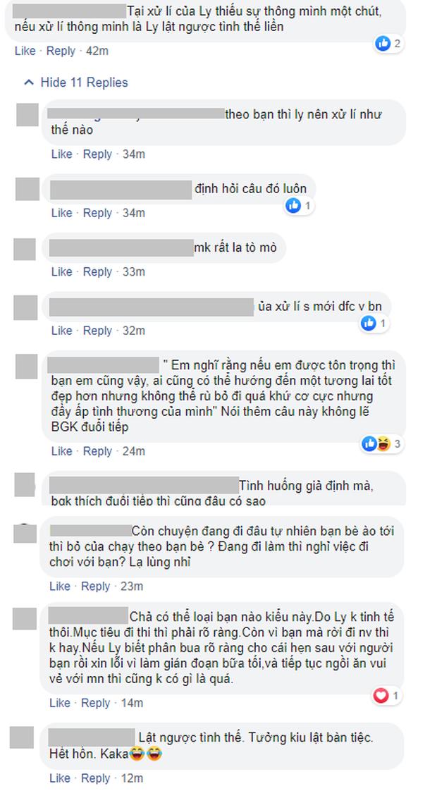 Hoa hậu Hoàn vũ VN: Hương Ly bị Hoàng Thùy chê xử lý không khéo léo, cư dân mạng tranh cãi sôi nổi - Ảnh 8.