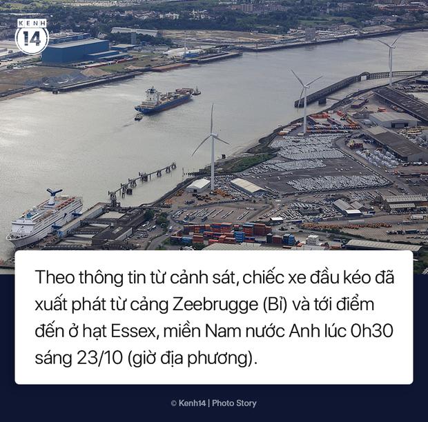 Toàn cảnh vụ phát hiện 39 thi thể trong xe container gây chấn động nước Anh - Ảnh 4.