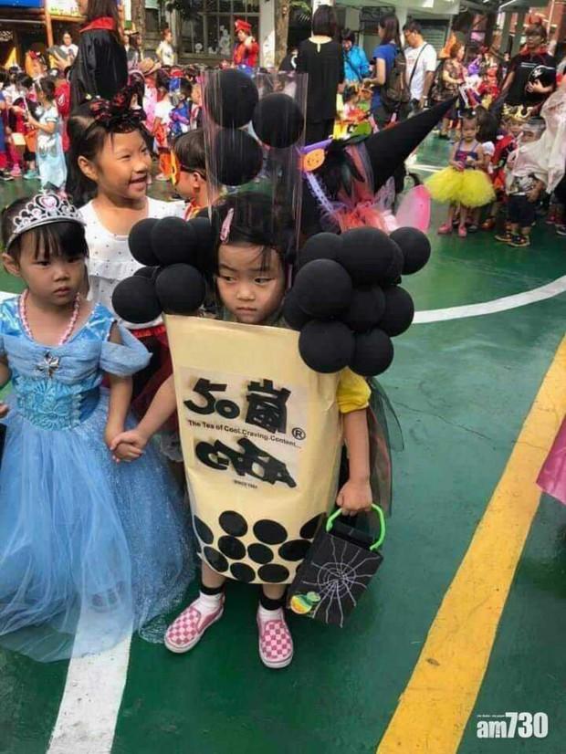 Đặc sản Halloween chính là những màn hóa trang Vô Diện, Joker, Valak,... phiên bản nhí cute hết nấc! - Ảnh 5.