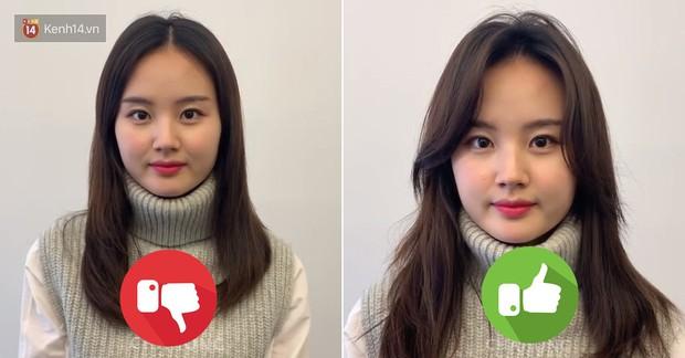 Chỉ là xoã tóc nhưng gái Hàn vẫn xinh và thần thái ngời ngời là nhờ tuyệt chiêu chia ngôi đặc biệt - Ảnh 1.