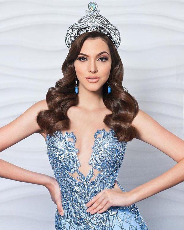 Soi cận nhan sắc và thần thái hút hồn của mỹ nhân Venezuela 10x vừa đăng quang Hoa hậu Hoà bình - Ảnh 1.
