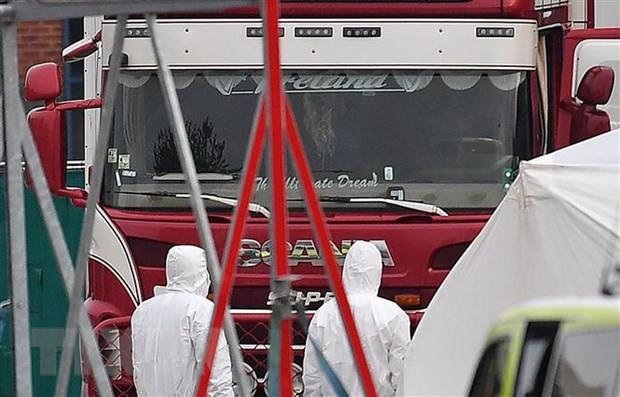Anh: Chưa xác nhận việc có người Việt Nam trong xe container - Ảnh 1.