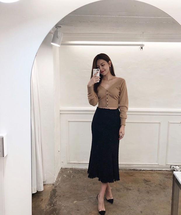 Sooyoung có 3 cách mặc cardigan tuyệt xinh, bạn mà áp dụng thì mỗi lần diện cardigan là một lần tỏa sáng - Ảnh 11.