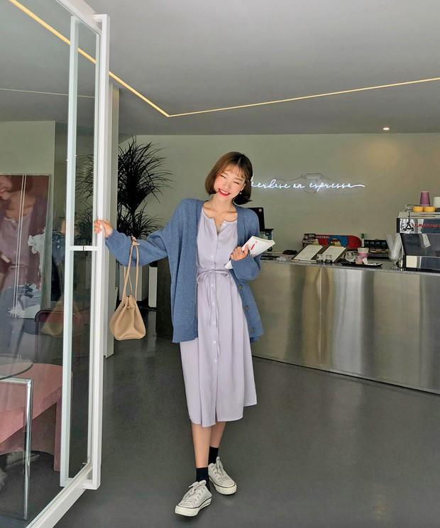 Sooyoung có 3 cách mặc cardigan tuyệt xinh, bạn mà áp dụng thì mỗi lần diện cardigan là một lần tỏa sáng - Ảnh 10.