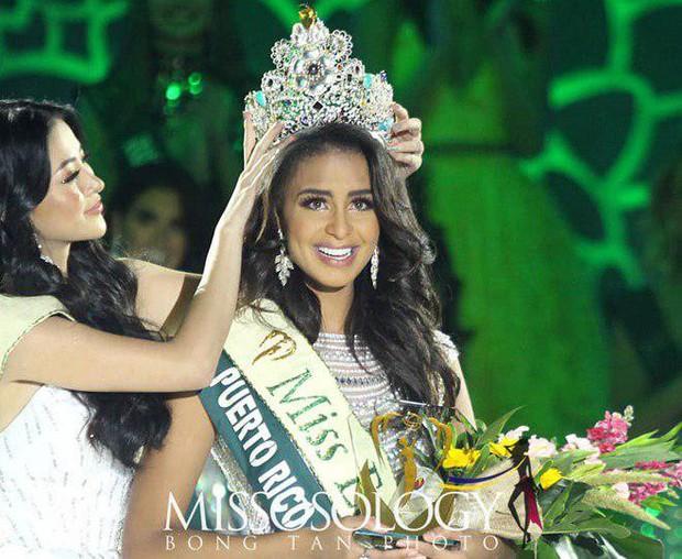 Mỹ nhân Việt trắng tay dù dành nhiều huy chương phụ, đại diện Puerto Rico đăng quang Hoa hậu Trái đất 2019 - Ảnh 1.