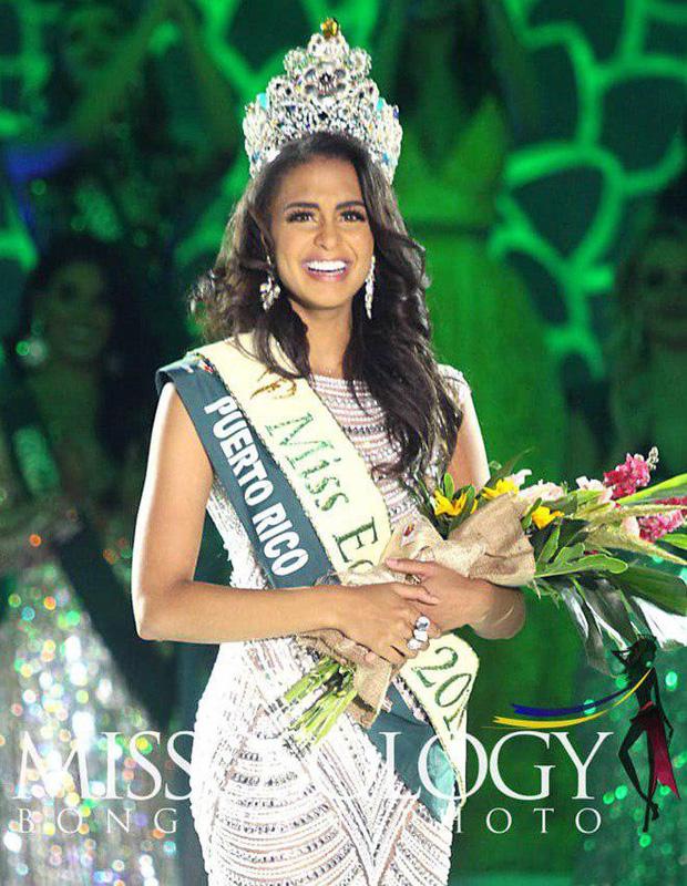 Mỹ nhân Việt trắng tay dù dành nhiều huy chương phụ, đại diện Puerto Rico đăng quang Hoa hậu Trái đất 2019 - Ảnh 2.