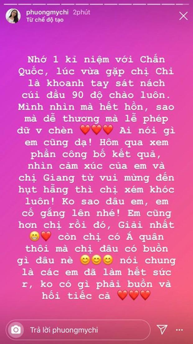 Phương Mỹ Chi lên tiếng động viên Chấn Quốc sau sự cố hụt giải Quán quân Giọng hát Việt nhí 2019 - Ảnh 1.