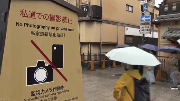 Một quận ở Nhật cấm tiệt du khách quay phim chụp ảnh trên đường phố, ai vi phạm sẽ bị phạt tới 10.000 yên - Ảnh 4.