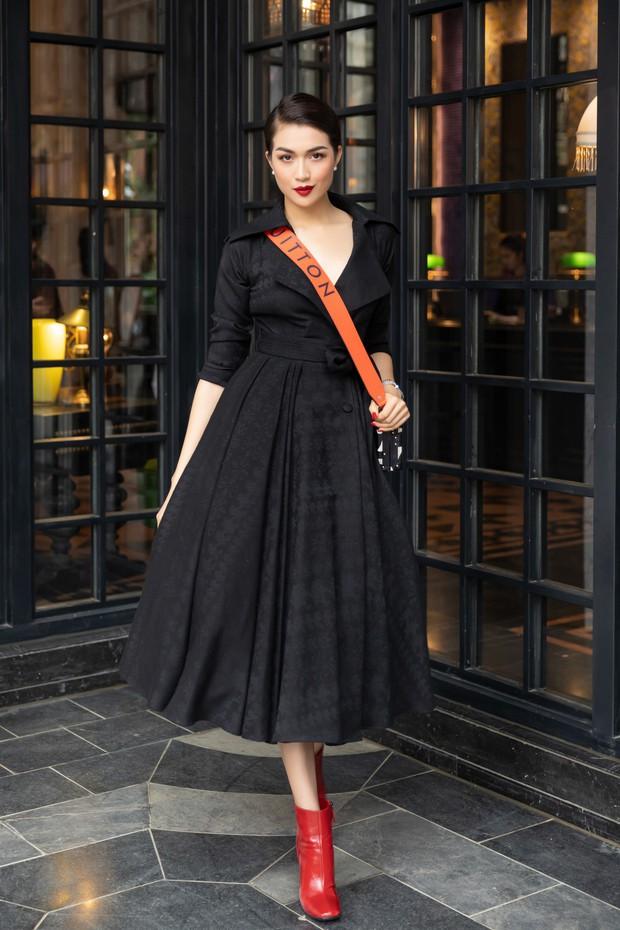 Dàn Hoa hậu, Á hậu hot nhất nhì Vbiz váy áo lộng lẫy, đụng độ bất phân thắng bại trong một khung hình - Ảnh 12.