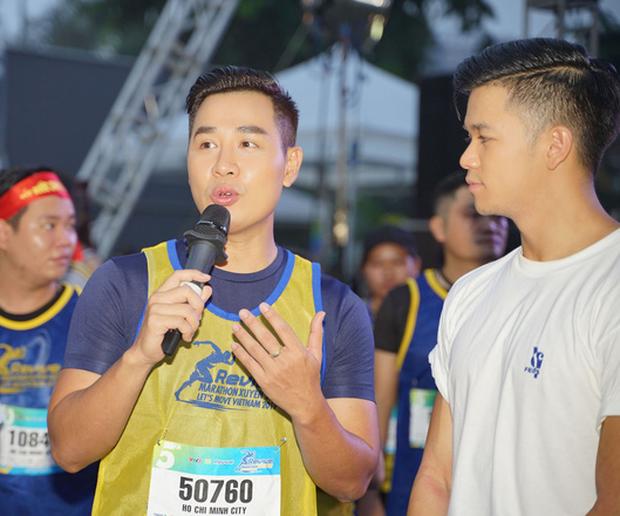 Minh Hằng gây náo loạn show Marathon khi chạy cùng dàn trai đẹp - Ảnh 3.