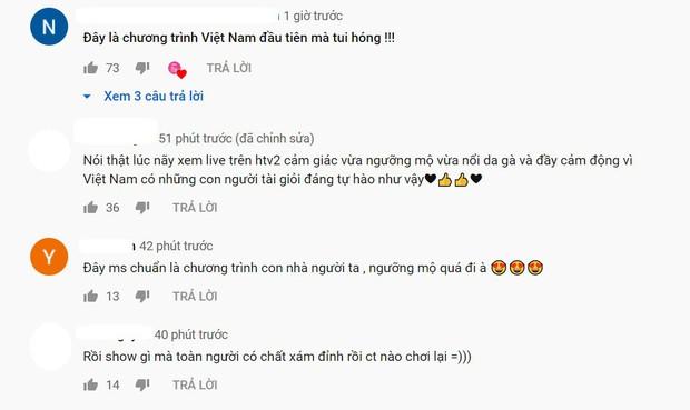 Cư dân mạng sau khi xem tập mở màn Siêu trí tuệ Việt Nam: Ngưỡng mộ, nổi da gà, tự hào và xúc động! - Ảnh 4.