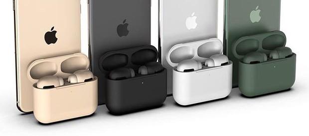 AirPods Pro lộ ảnh hộp đựng lạ chưa từng thấy, màu Midnight Green y hệt iPhone 11 Pro - Ảnh 3.