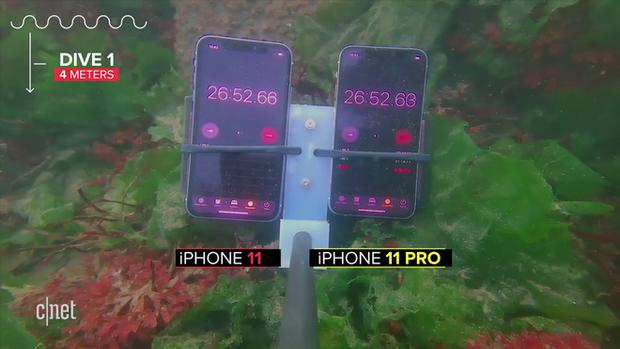 Thử khả năng chống nước của iPhone 11: Ngâm dưới đáy biển sâu 12m trong 30 phút vẫn sống nhăn răng? - Ảnh 2.