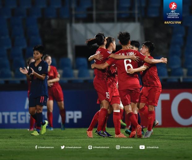 Chơi phản công ấn tượng, U19 nữ Việt Nam xuất sắc hạ gục chủ nhà Thái Lan ở trận ra quân U19 châu Á 2019 - Ảnh 1.