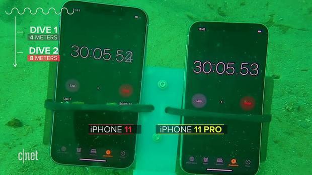 Thử khả năng chống nước của iPhone 11: Ngâm dưới đáy biển sâu 12m trong 30 phút vẫn sống nhăn răng? - Ảnh 4.