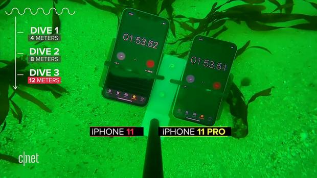 Thử khả năng chống nước của iPhone 11: Ngâm dưới đáy biển sâu 12m trong 30 phút vẫn sống nhăn răng? - Ảnh 7.