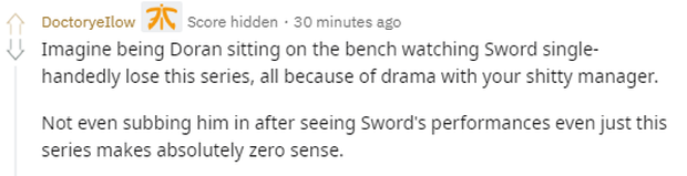 Fan quốc tế hả hê khi chứng kiến Sword thất bại: Với Sword thì Griffin chẳng khác nào đang chơi 4vs6 - Ảnh 9.