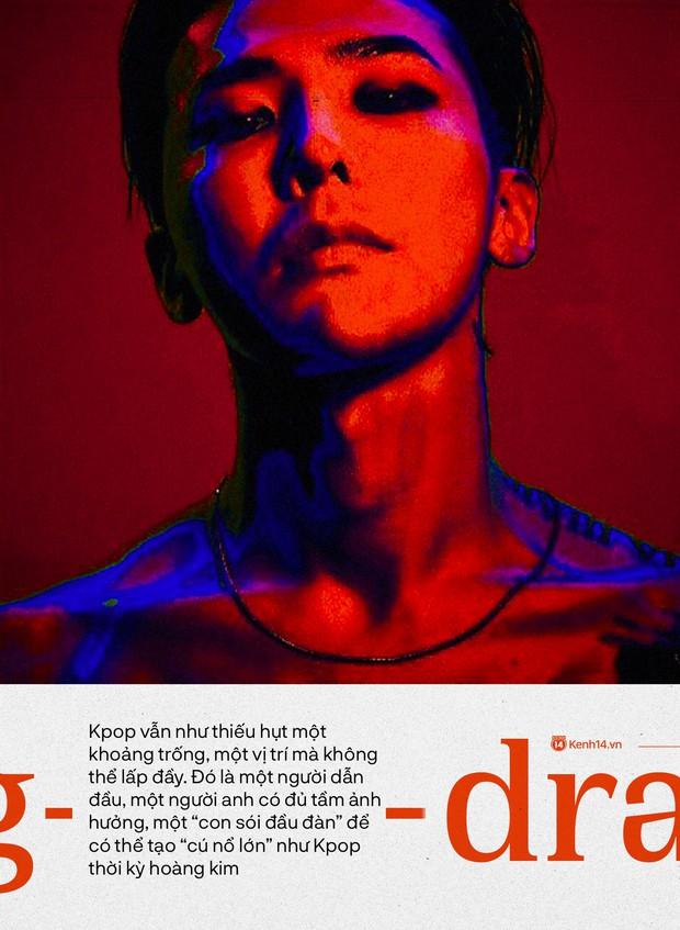 """Sự trở lại của """"ông hoàng Kpop"""" G-Dragon: Ngai vàng YG sắp có chủ nhân, nhưng kịch bản nào cho một huyền thoại vực dậy địa ngục Kbiz đen tối? - Ảnh 5."""