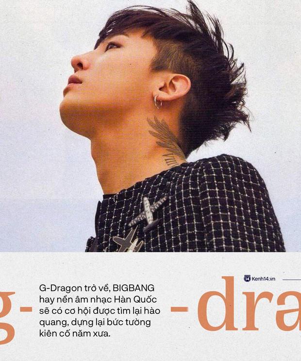"""Sự trở lại của """"ông hoàng Kpop"""" G-Dragon: Ngai vàng YG sắp có chủ nhân, nhưng kịch bản nào cho một huyền thoại vực dậy địa ngục Kbiz đen tối? - Ảnh 9."""