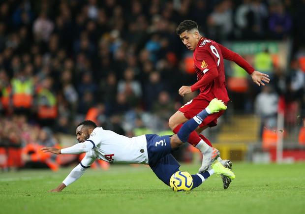 Son Heung-min cay đắng hóa thánh cột - xà, Tottenham thua ngược tiếc nuối đội đầu bảng Liverpool - Ảnh 1.