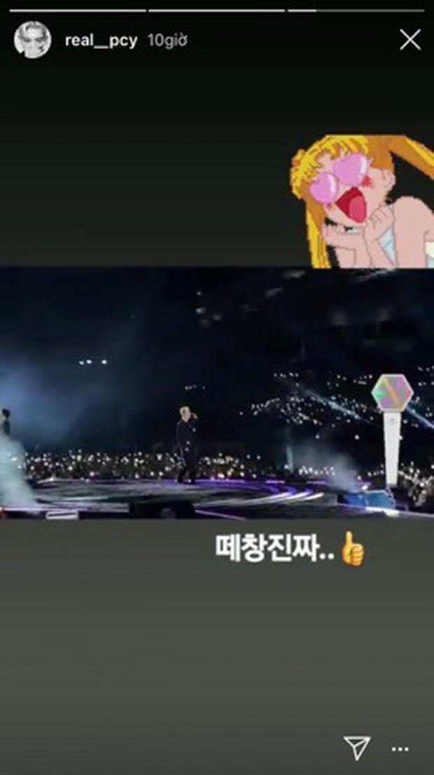 Chỉ với 2 thành viên nhưng EXO-SC đã biến 1 show diễn thành concert riêng, lightstick lọt top trending khiến Chanyeol đăng đàn khen ngợi fandom hết lời - Ảnh 5.