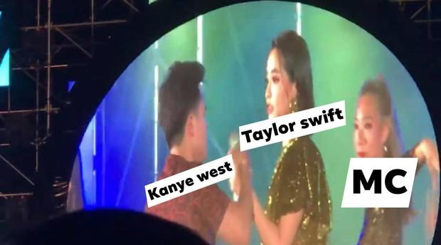 Hú hồn khi Taylor Swift, Miley Cyrus, Lana Del Rey và loạt sao thế giới cũng từng bị giật mic, chen ngang màn trình diễn trong ngỡ ngàng - Ảnh 7.