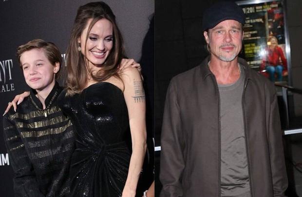 Xôn xao tin cô con gái Shiloh kêu gào cầu cứu Brad Pitt vì sống khổ sở bên Angelina Jolie - Ảnh 1.