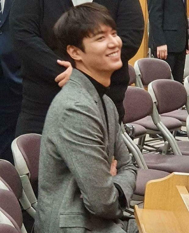 Ai như Lee Min Ho, dự đám cưới bạn thân mà chiếm hết spotlight vì bảnh bất chấp camera thường cùng chiều cao khủng - Ảnh 5.