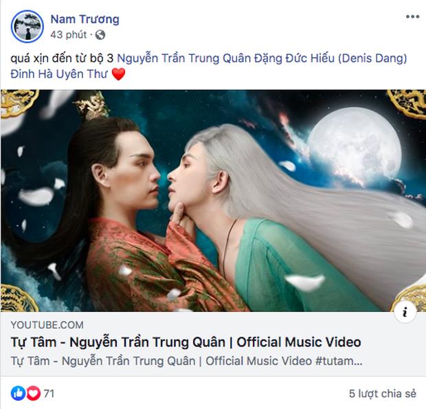 """Cảnh hôn nam-nam đã mắt, nội dung kịch tính, khán giả khen ngợi """"Tự Tâm"""" là MV đam mỹ hoành tráng bậc nhất Vpop nhưng làm lu mờ hẳn bài hát - Ảnh 2."""