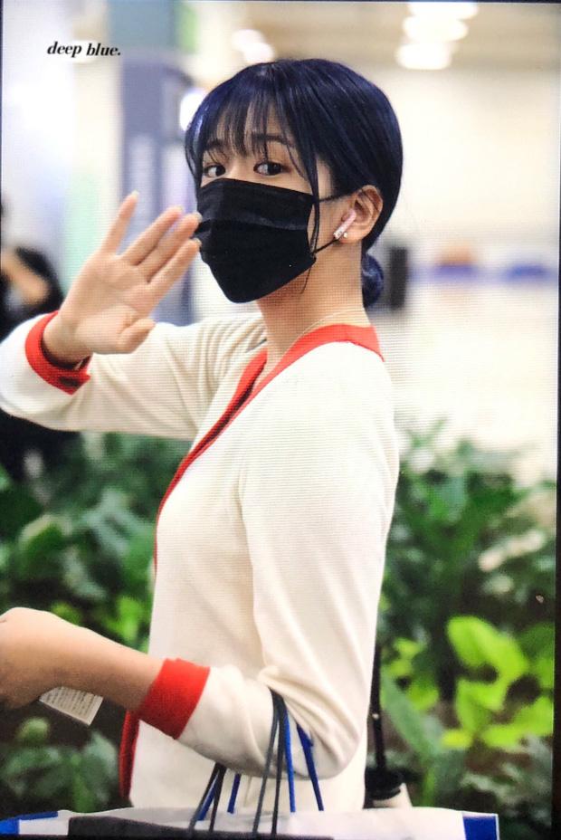 Lâu lắm mới có girlgroup khiến Knet trầm trồ vì visual cả nhóm quá đỉnh ở sân bay, mỹ nhân người Nhật lột xác bất ngờ - Ảnh 10.